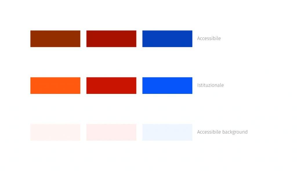 Palette colori accessibili
