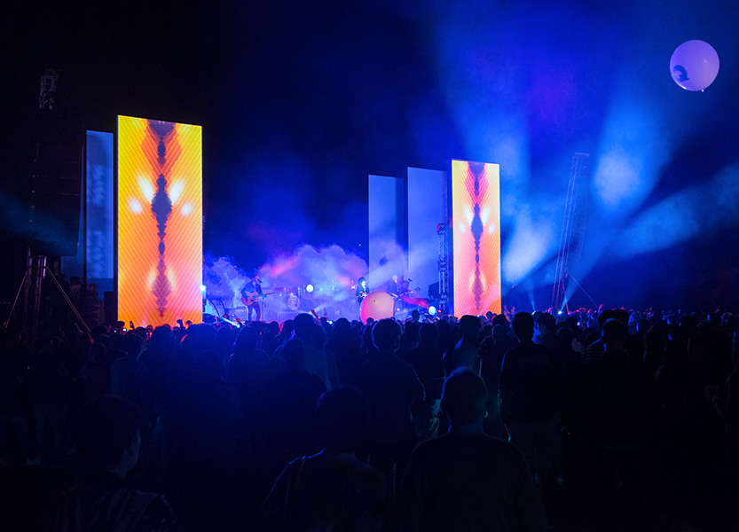 GQ Music & Style, uno spettacolo di musica e luce trasforma il palco di Burri